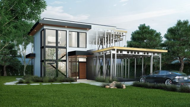 Net Zero Demo Home Uses Heat Mirror Glass