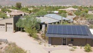 Harvesting the sun in Arizona