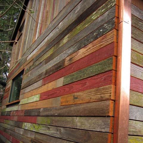 Micro Home Uses Reclaimed Barnwood Proud Green Home