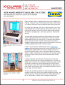 IKEA makes website available in-store