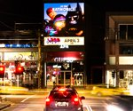 Location-based digital signage campaign launches 'The Lego Movie' in Australia