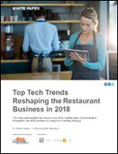 Top Tech Trends Reshaping the Restaurant Business in 2018