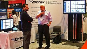 Omnivex Corp. showcased its smart store omnichannel solutions for retail.
