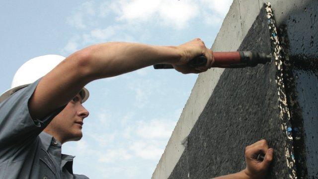 Foundation waterproofing system battles basement water problems