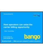 Webinar: How operators can seize the carrier billing opportunity