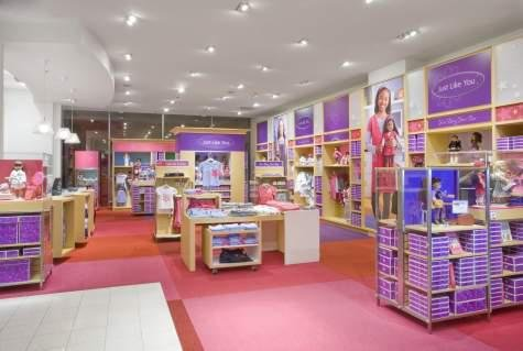 American girl boutique and bistro in dallas retail for Blueprint store dallas