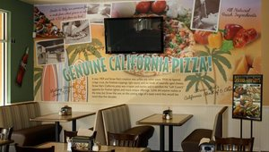 Straw Hat Pizza president Jonathan Fornaci said the family dining pizza chain has recently gotten a makeover with earth tones and more upscale touches.