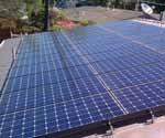 Solar installer offering a free home energy audit before making green home improvements