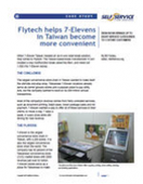 Flytech helps 7-Elevens in Taiwan become more convenient