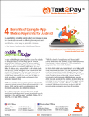 Four Benefits of Using In-App Mobile Payments for Android