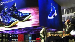 Under Armour activates the space with digital signage in new Chicago Brand House