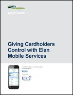 Giving Cardholders Control with Elan Mobile Services