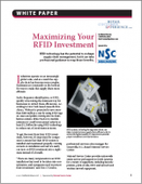 Maximizing Your RFID Investment