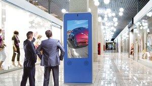 Peerless-AV intros new line of Portrait Kiosk Enclosures
