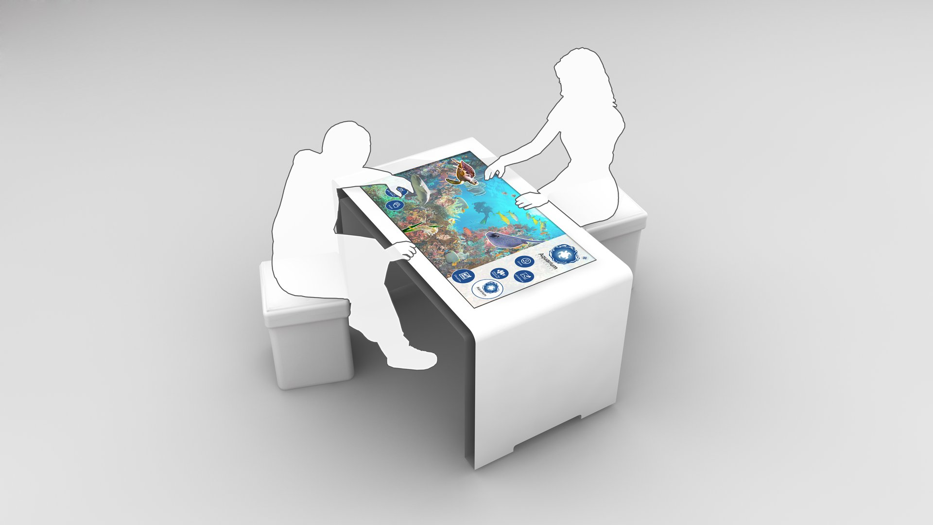 touch screen table alpha interactive digital signage xxl rh digitalsignagetoday com
