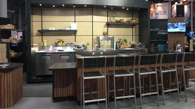 Design partnership delivers BOGO: Restaurant kiosk edition