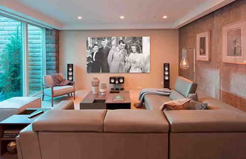the home automation system offers homeowners secure cloud based remote access to control their
