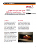 Wood-Fired Pizza Ovens Help Serve up Perfect Pizza