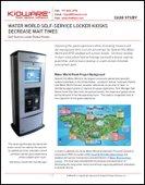 Kioware Case Study: Water World Self-Service Locker Kiosks Decrease Wait Times