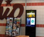 Buckeye State test driving rest-stop digital signage
