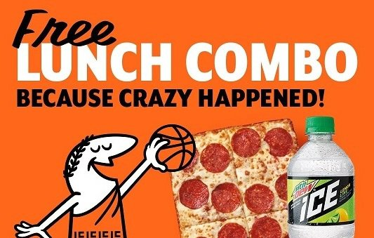 Historic NCAA tournament upset means you can score free pizza