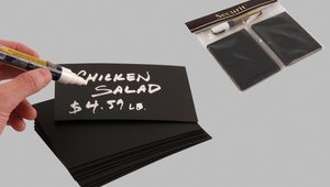 Quick Sign Changes in Style with New Mini Chalk Cards