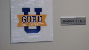 "Called ""Guru University,"" the facility's training room offers a week-long, intense course for ATM technicians from throughout the world."