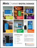 Turnkey Digital Signage Solutions