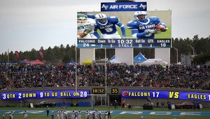 Air Force Academy Falcons flying high with new stadium digital signage