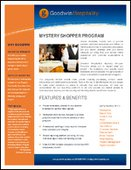 Mystery Shopper Program Overview