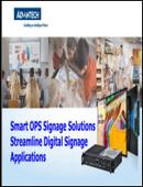 Smart OPS Signage Solutions Streamline Digital Signage Applications