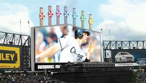 Chicago White Sox unveil new digital signage scoreboard on Opening Day