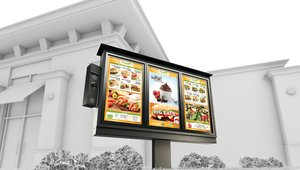 Ordering up digital signage benefits at the drive-thru