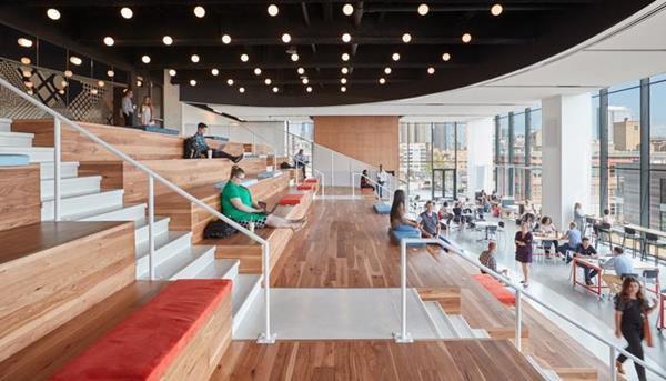 McDonald's new Chicago HQ: Green roof, 'Work Cafe,' department 'neighborhoods,'