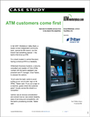 ATM customers come first