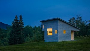 <p> </p>  <p><strong>BEST CONTEMPORARY</strong></p>  <p>Elizabeth Herrmann Elizabeth Herrmann Architecture + Design</p>  <p>Micro House Huntington, Vt.</p>  <p>The Micro House is a newly constructed 430-square-foot artist's home on a property with spectacular views in rural Vermont. The program was simple: a bathroom, sleeping area, kitchen, storage, dining/work table, living space that could double as guest sleeping and a sleeping loft. </p>