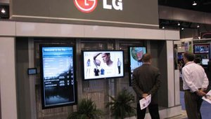 LG's booth offerings continued to stake the company as one of the leaders in digital signage display technology.