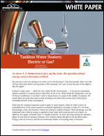 Tankless Water Heaters: Electric or Gas?