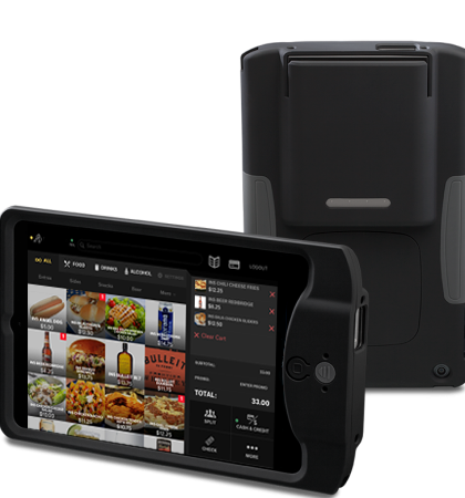 Handheld Tableside Ordering / Appetize Technologies | FastCasual
