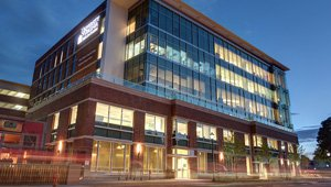 Battle Building at UVA Children's Hospital utilizes radiant floor heating
