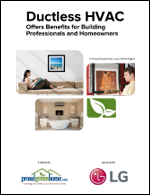 Ductless HVAC Offers Benefits for Building Professionals and Homeowners