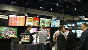 Digital menu board specialists WAND Corp. showed off its QSR solutions.