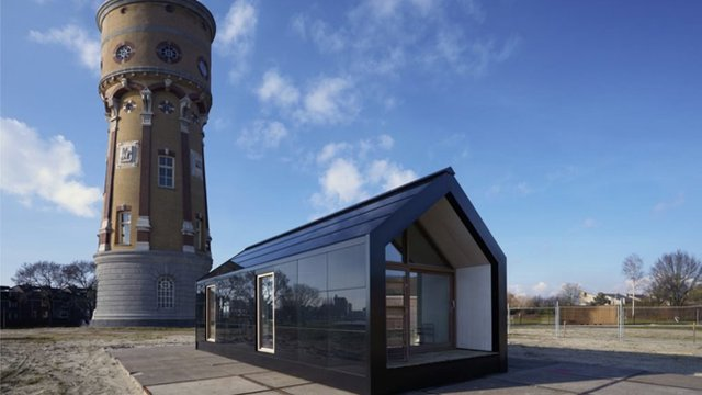 Self-sufficient tiny house designed to pop up anywhere