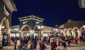 Outlets at Corpus Christi Bay:  Interactive Mall Directory Enhances the Customer Experience