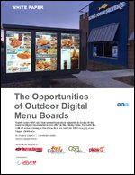 The Opportunities of Outdoor Digital Menu Boards