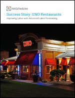 Uno Restaurants: Improving Labor with Advanced Labor Forecasting