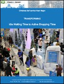 Christmas Self-Service Kiosk Magic: Transforming Idle Waiting Time to Active Shopping Time