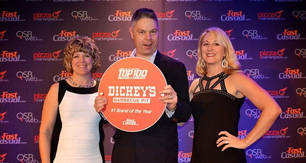 Dickey's named Fast Casual's No. 1 brand