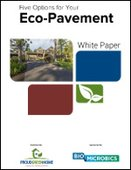Five Options for Your Eco-Pavement