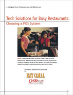 Tech Solutions for Busy Restaurants: Choosing a POS System